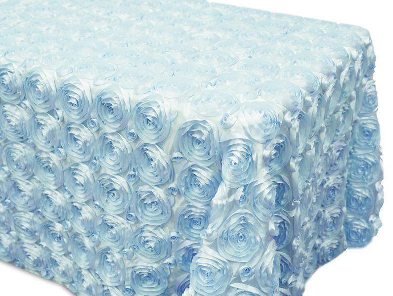 Rose Satin Rectangletablecloths