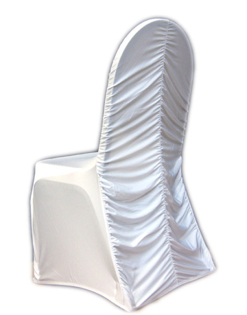 Spandex Ribcage Banquet Chair Cover