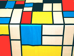 Mondrian Banquet Chair Cover