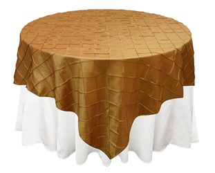 Pintuck Square Tablecloths