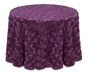 Rose Satin Tablecloth