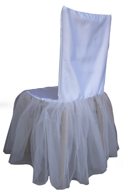 Ballerina Chivari Chair Cover
