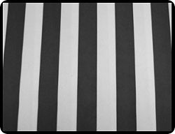 Black Awning Stripe