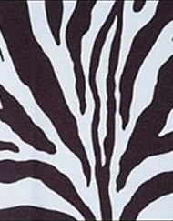 Linen N Chair Covers - Zebra