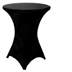 "Spandex 42"" High Round Tablecloths"