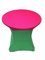"Spandex 30/36"" Round Table Toppers"