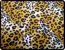 Leopard Banquet Chair Cover