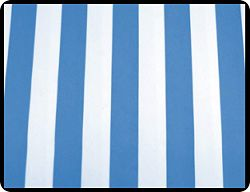 "Awning Stripe 90"" Round Tablecloths"