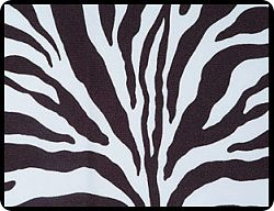 "Zebra 54"" Square Tablecloths"