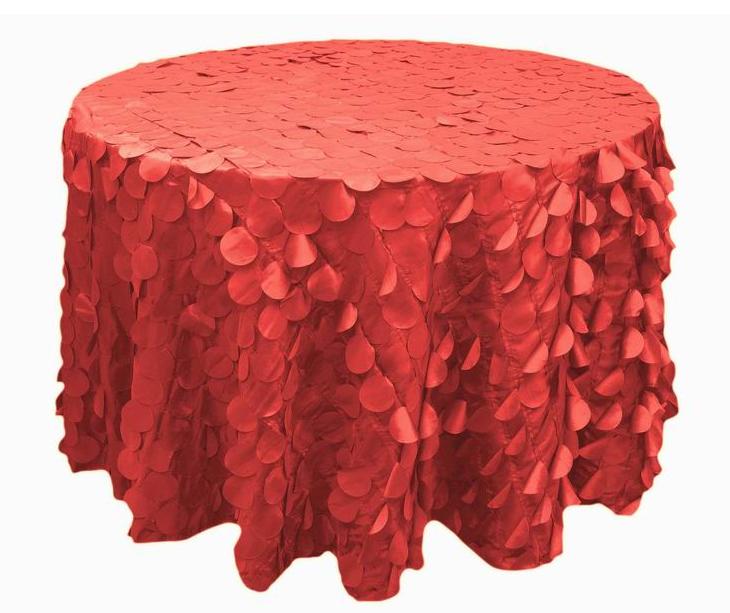 Hanging Petals Round Tablecloths