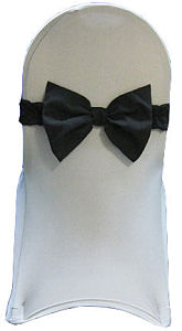 Black PreMade Bow