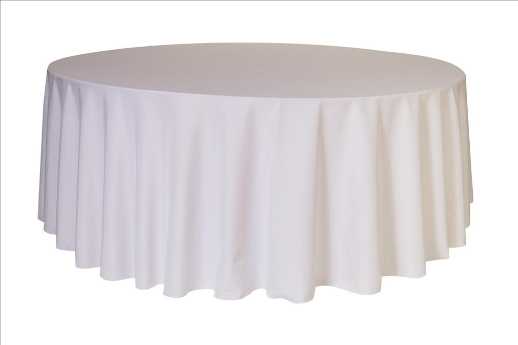 Polyester Round Tablecloth