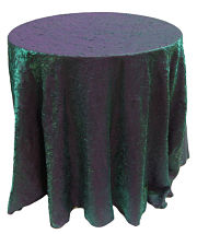 Shimmer Crush Round Tablecloth